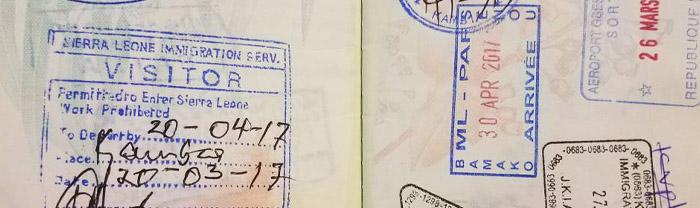 Sierra Leone Visa online