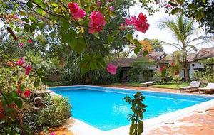 swimming pool at Canne a Sucre, Banfora, Burkina Faso